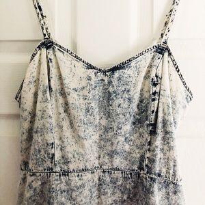 Stonewashed denim mini dress! Forever 21